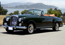 Details - 1957 Bentley S1 Park Ward Continental Convertible
