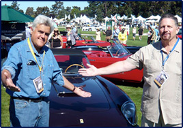 Jay Leno & Mark Ketcham - Quail Event at Pebble Beach Aug. 2007